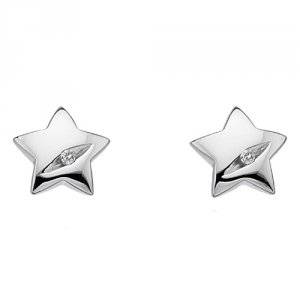 Stříbrné náušnice Hot Diamonds Shooting Stars DE323