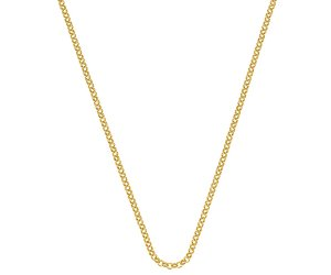 Stříbrný řetízek Hot Diamonds Emozioni Yellow Gold Belcher Chain 30