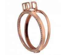 Stříbrný přívěsek Hot Diamonds Emozioni Coin Keeper Rose Gold Coin Reversible DP557-558