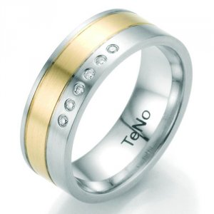 Prsten s diamantem TeNo Weddingring TaMoR