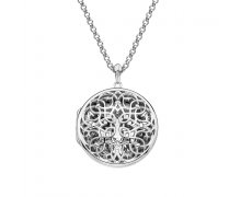Přívěsek Hot Diamonds Large Circle Filigree Locket DP665