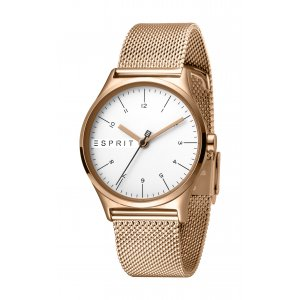 Hodinky ESPRIT Essential Silver Rosegold Mesh