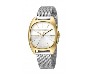 Hodinky ESPRIT Infinity Silver Gold Mesh